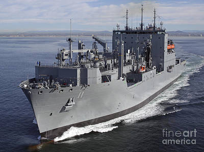 Photograph - Military Sealift Command Dry Cargo by Stocktrek Images