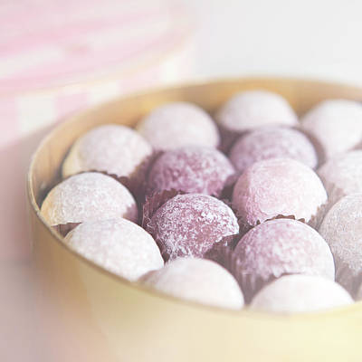 Food And Drink Photograph - Milk Chocolate Truffles by Peter Chadwick LRPS