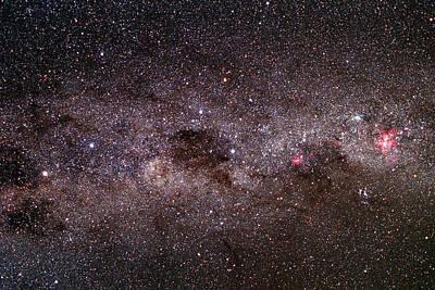 Milky Way Art Print by Dr Fred Espenak