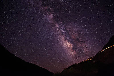 Photograph - Milky Way In The Mountains 2 by Melany Sarafis