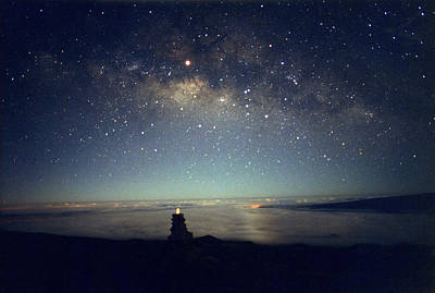 Milky Way Art Print by Magrath Photography