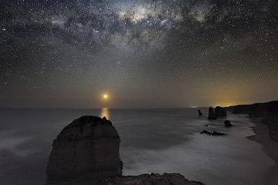 Milky Way Over Shipwreck Coast Art Print by Alex Cherney, Terrastro.com