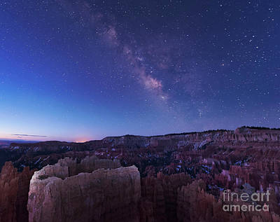 Claude Monet - Milky Way Over The Needle Rock by John Davis