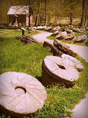 Photograph - Mill Stones Levi Jackson by Cindy Wright