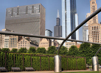 Photograph - Millenium Park - 1 by Ely Arsha