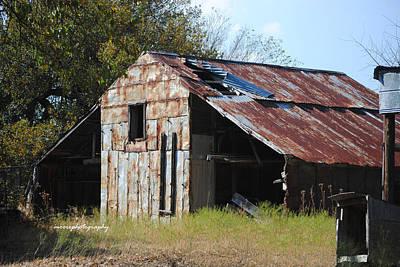 Old Barns Photograph - Miller Barn by Lisa Moore