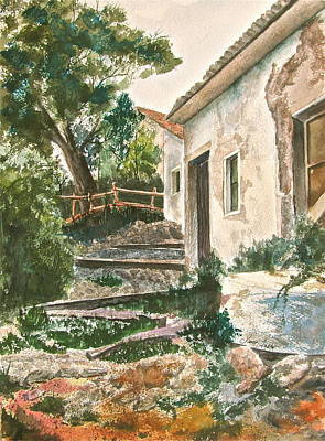 Millstone Painting - Millstone Aria by Frank SantAgata