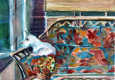 Milly Has A Rainy Day Original by Mindy Newman