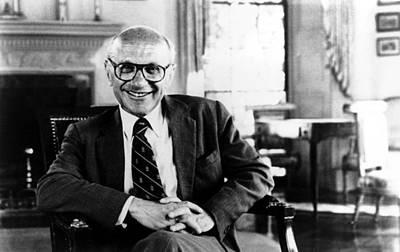 1980s Portraits Photograph - Milton Friedman, 1980� Csu by Everett
