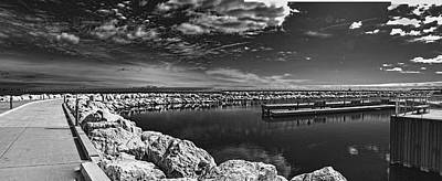 Photograph - Milwaukee Breakwater by Gordon Engebretson