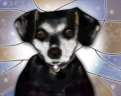 Mixed Media - Min Pin by Melisa Meyers