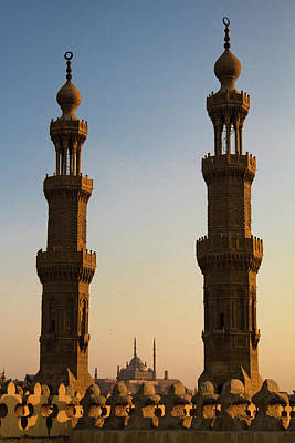 Minarets Art Print by Matteo Allegro