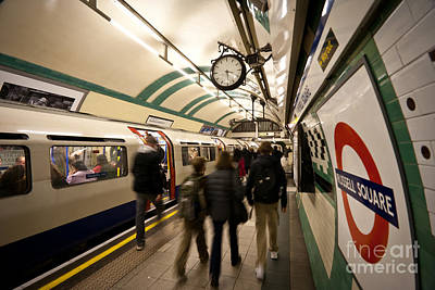 The Tube Wall Art - Photograph - Mind The Gap by Mike Reid