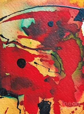 Mindscape 1 Art Print by Ana Maria Edulescu