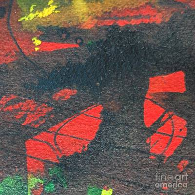 Mindscape 4 Art Print by Ana Maria Edulescu