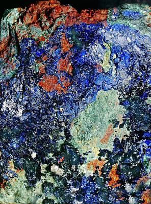 Mineral Deposition Art Print by Dirk Wiersma