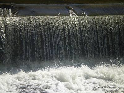 Mineral Park Water Fall - Petoskey Art Print