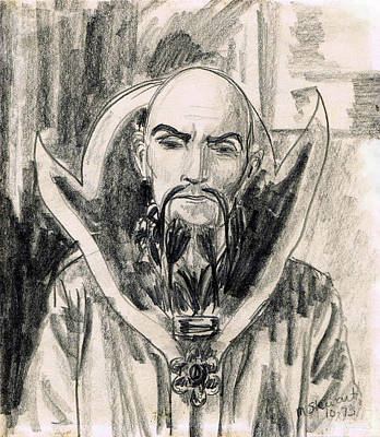 Ming The Merciless Art Print by Mel Thompson