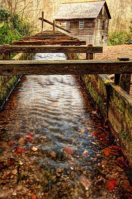 Art Print featuring the photograph Mingus Mill by Doug McPherson