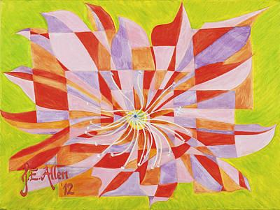 Joseph Edward Allen Painting - Minha Flor by Joseph Edward Allen