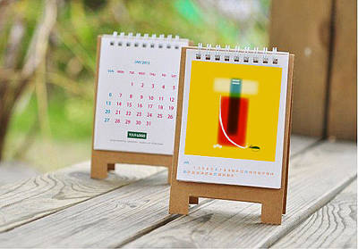 Mini Desk Calendar 2013 Original
