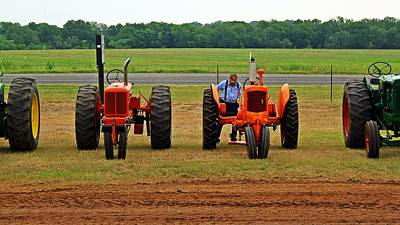 Farming Photograph - Mini Mo by Monica Wheelus