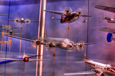 Photograph - Miniature Airplanes by Jeremy Lankford
