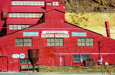 Photograph - Mining Museum by Shannon Harrington