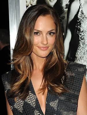 Minka Kelly At Arrivals For Country Art Print by Everett