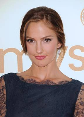 Minka Kelly At Arrivals For The 63rd Art Print by Everett