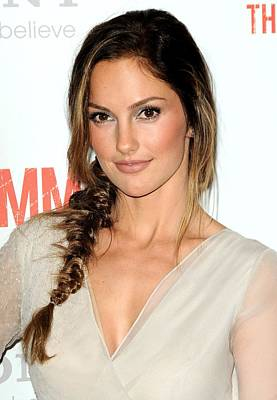 Minka Kelly At Arrivals For The Art Print by Everett