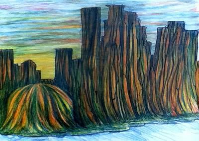 Minne Valley Art Print