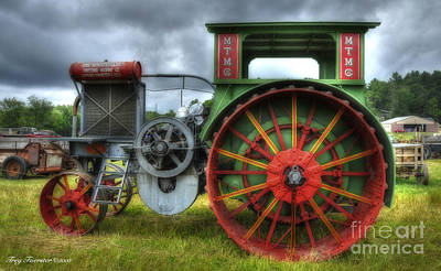 Art Print featuring the photograph Minneapolis Threshing Machine Co. by Trey Foerster