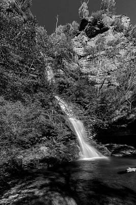 Minnehaha Falls Photograph - Minnehaha Falls - Katoomba Nsw by Mark Lucey