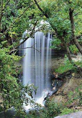 Minnehaha Falls Photograph - Minnehaha Falls Peek by Kristin Elmquist