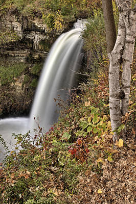 1-war Is Hell Royalty Free Images - Minnehaha Waterfall Miinnesota Royalty-Free Image by Mark Duffy