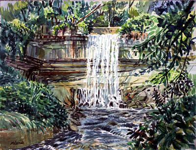 Minnihaha Falls Art Print
