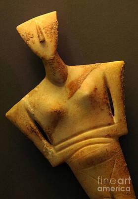 Minoan Photograph - Minoan Figure by Bob Christopher