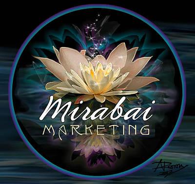 Digital Art - Mirabai Marketing Logo by Atheena Romney
