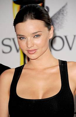 Miranda Kerr At Arrivals For The 2011 Art Print