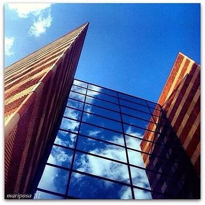 Angle Photograph - Mirror Image by Mari Posa