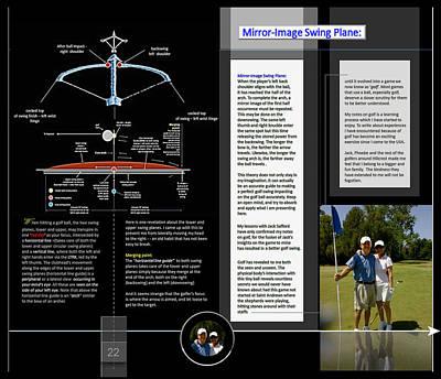 Digital Art - Mirror Image Swing Plane2 P22 by Glenn Bautista
