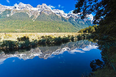 Photograph - Mirror Lakes by Graeme Knox
