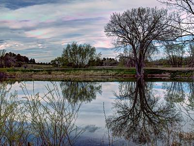 Photograph - Mirror Pond by HW Kateley