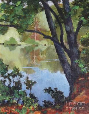 Painting - Mirror Reflection by Claire Gagnon