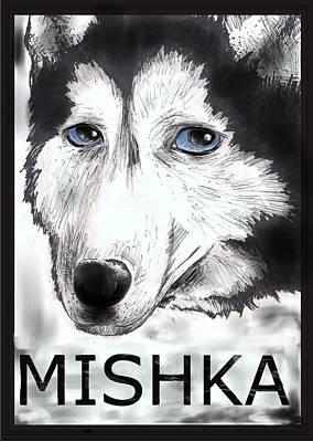 Mishka Fan Poster Art Print by Warren Lindsey