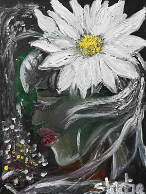 Miss Daisy Print by Sladjana Lazarevic