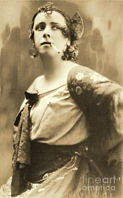 Kemp Photograph - Miss Kemp As Carmen by Padre Art