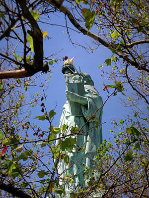 Art Print featuring the photograph Miss Liberty by Paul Mashburn