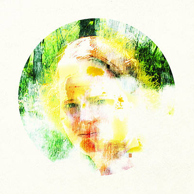 Miss. Sunshine 2 Art Print by Greta Thorsdottir
